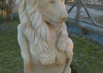 création lions